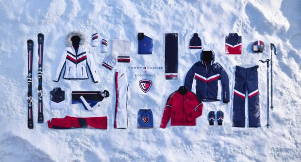 Rossignol cooperation with Tommy Hilfiger