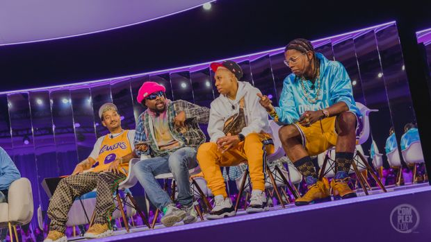Sneaker of the year – a panel with DJ Clark Kent, Lena Waithe and Trinidad James and more.