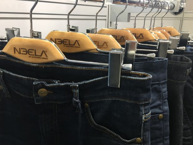 A parade of sustainable jeans by Neela Blue mill