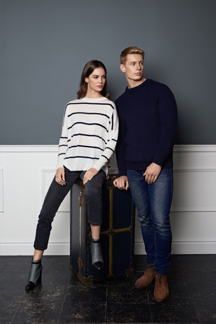Studio British webshop stocks brands such as Sanders & Sanders, Mackintosh, Gloverall and John Smedley.
