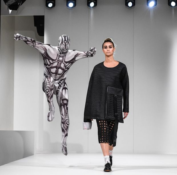 Fashion show at Techtextil & Texprocess in 2017
