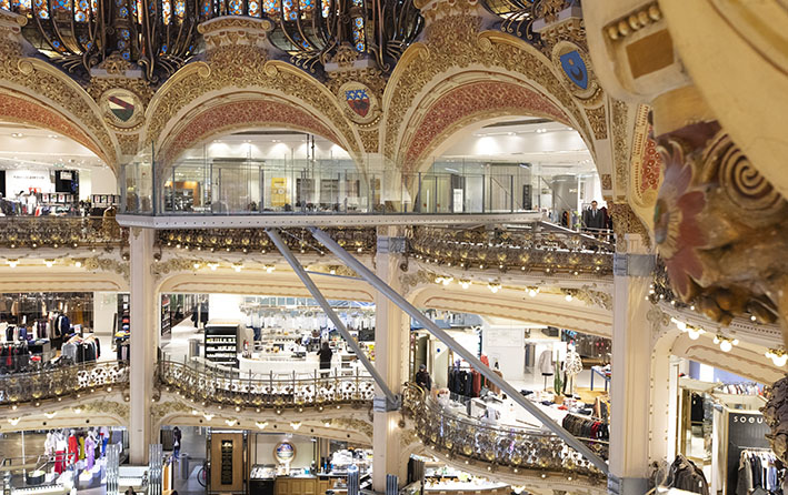 This is how Galeries Lafayette makes spring shopping exciting