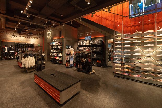 The new Snipes 2.0 store concept was unveiled in Cologne last November.