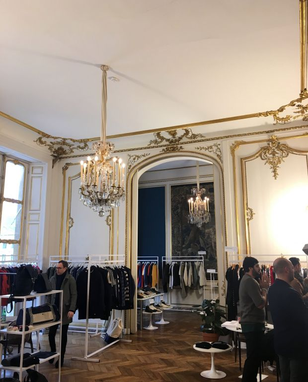 The royal atmosphere at MAN's Hôtel d'Évreux location