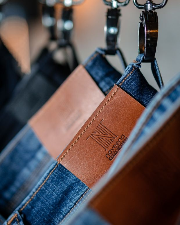 Naveena denim close-up