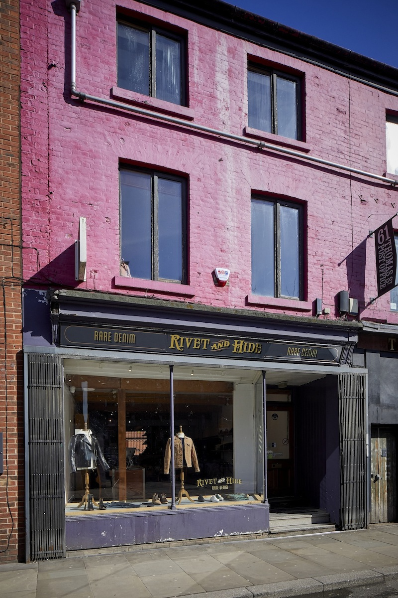 This is Rivet and Hide's new Manchester store