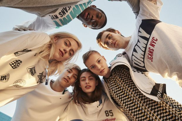 Millenial influencers for Tommy Jeans campaign