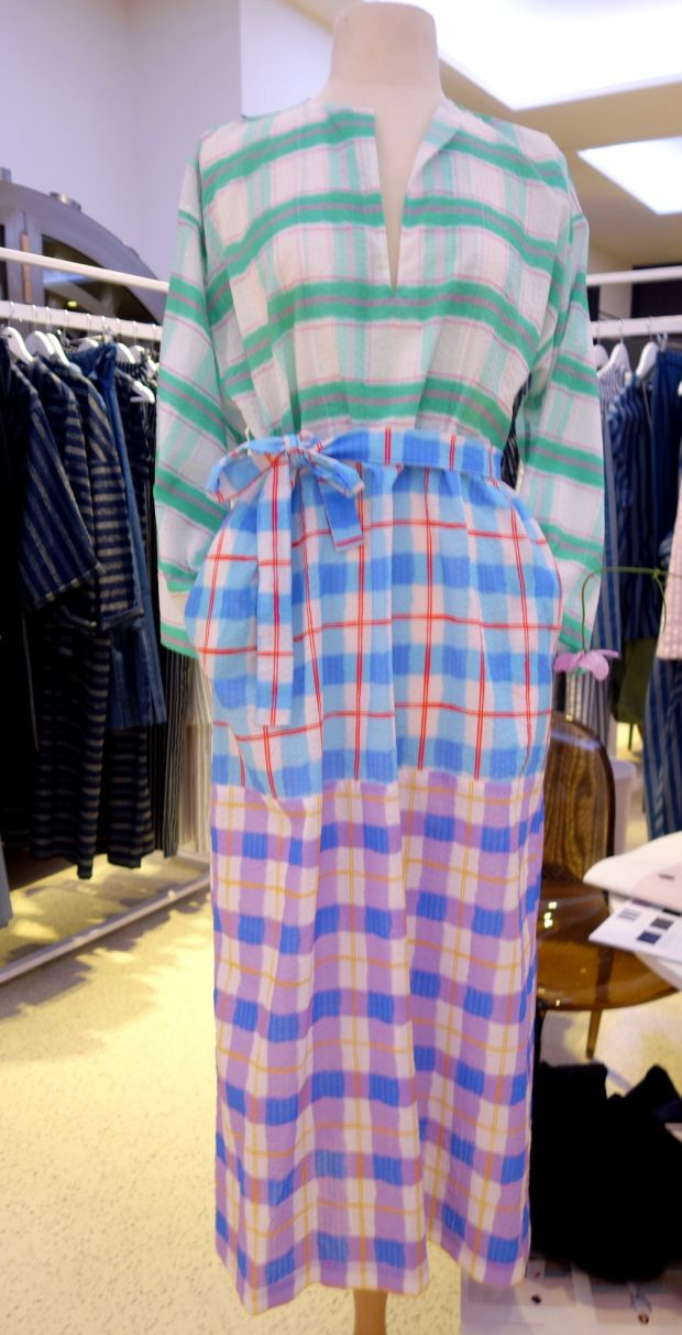 Checks from Roxane Baines at Man Woman Paris