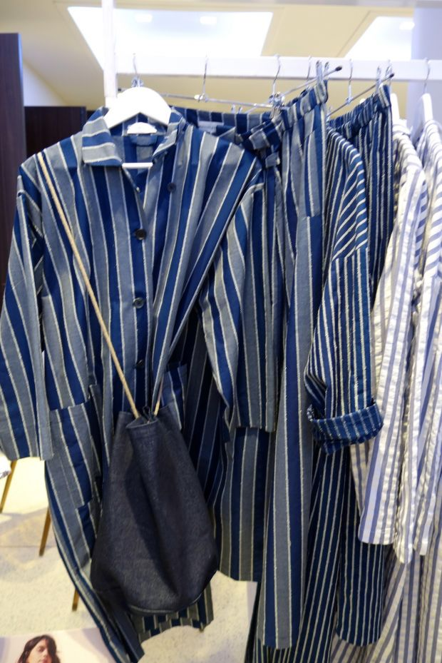 Stripes from Roxane Baines at Man Woman Paris