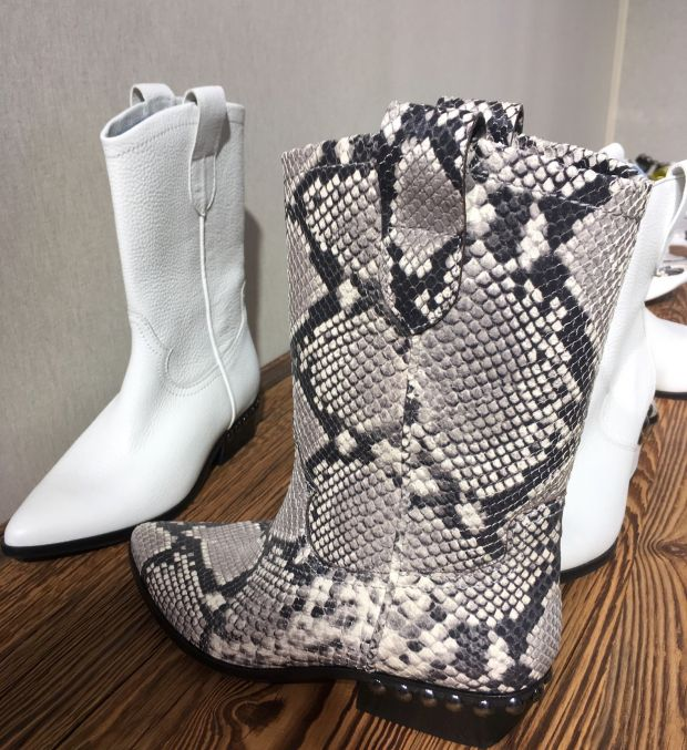 Cowboy boots from Kennel Schmenger at Premiere Classe