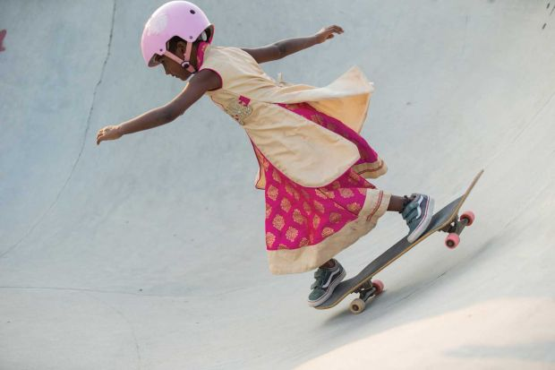 """Girls Skate India"", a project by Vans"