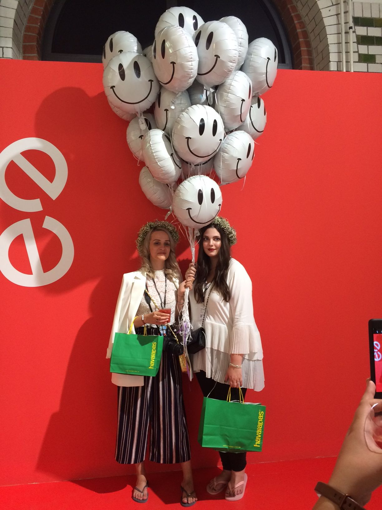 Visitors at Premium