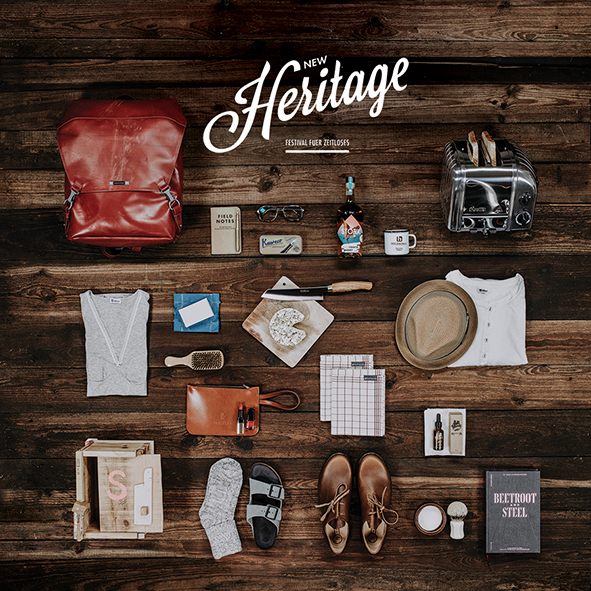 New Heritage is dedicated to products of heritage and craftsmanship.