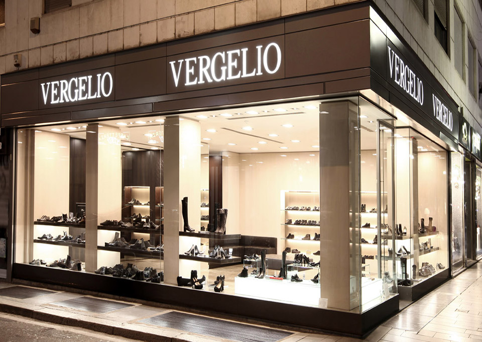 What will happen to Milanese footwear group Vergelio?