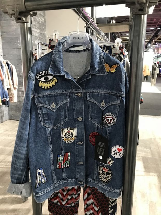 Decorated denim by Please