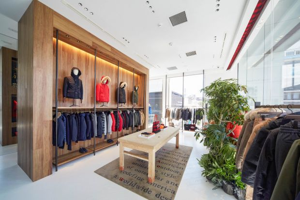 Woolrich Aoyama flagship store