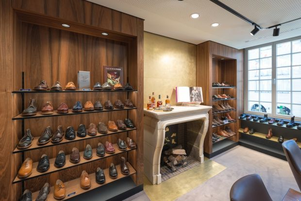 Men's footwear department