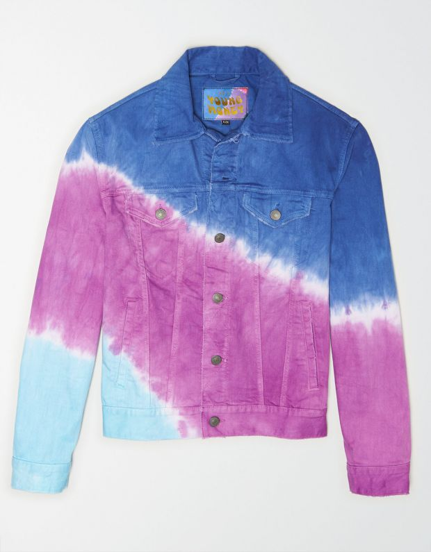 Denim jacket of the AE x Young Money range
