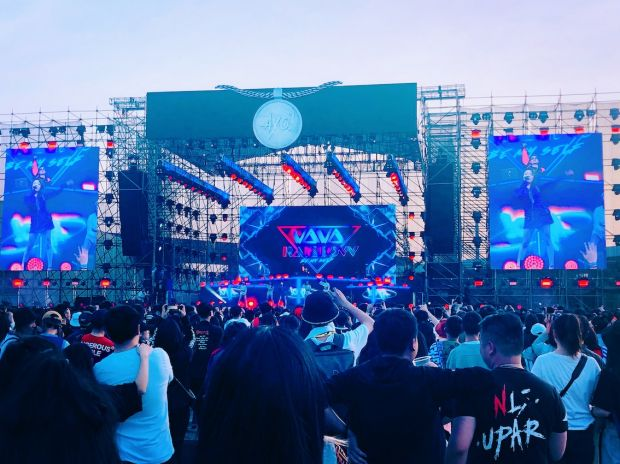 Ayo! music festival in Shanghai attracts Chinese streetwear- and music-addicted youth
