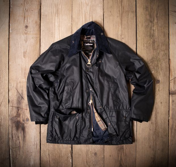 The iconic Barbour Bedale jacket model
