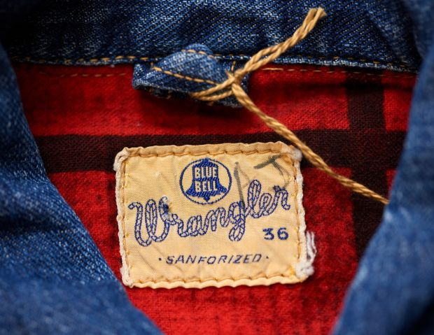 Wrangler jacket detail