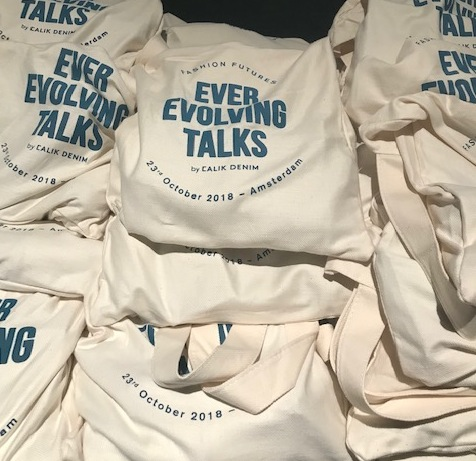 Goody bags at Calik's Ever Evolving Talks