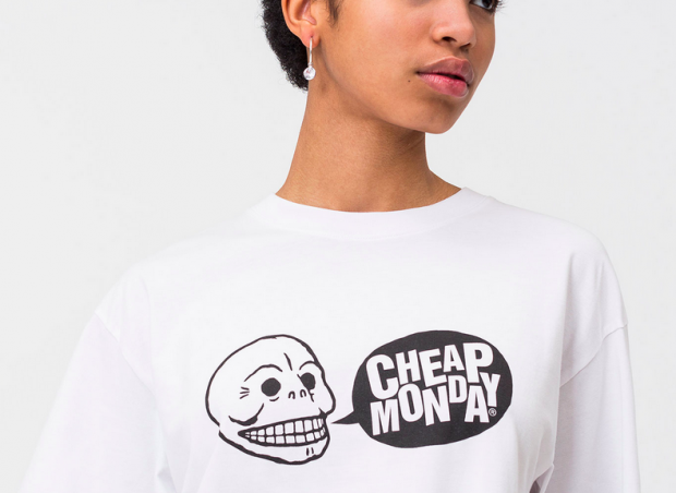 Logo tee by Cheap Monday