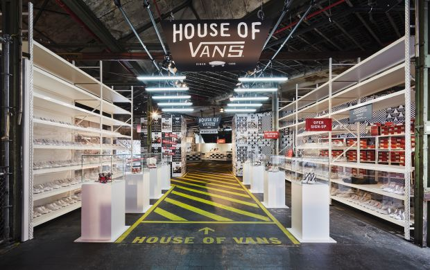 Vans booth at B&B