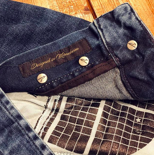 Made in Mannheim: Goldgarn jeans