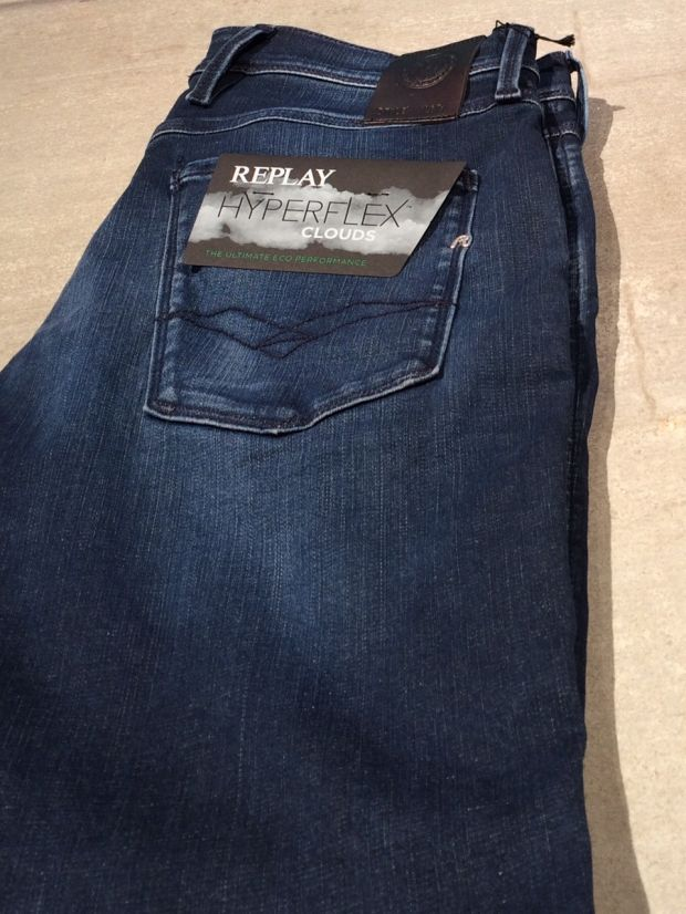 Replay's Hyperflex Clouds denims