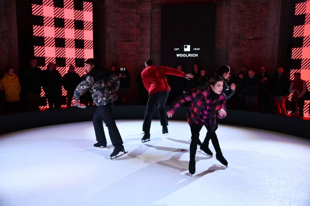 Woolrich skating performance
