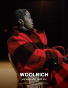 Current Woolrich campaign featuring testimonial Lauryn Hill