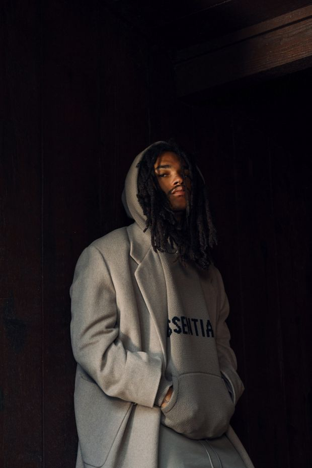 Look of Fear of God's Essentials line