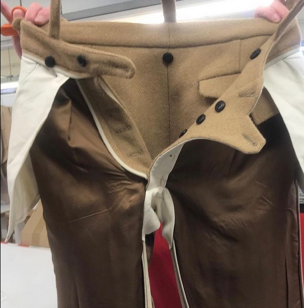 Pants created by Alessio Berto/The Tailor Pattern Support