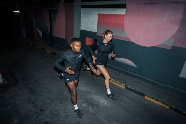 Under Armour #Runnconnected campaign