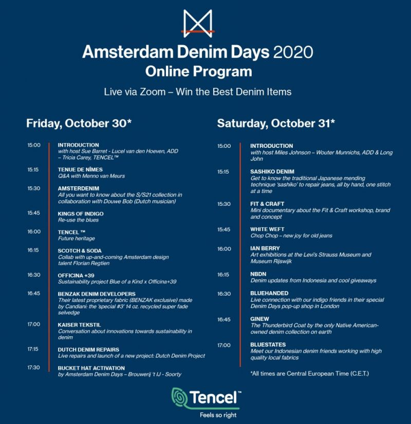 Amsterdam Denim Days online program