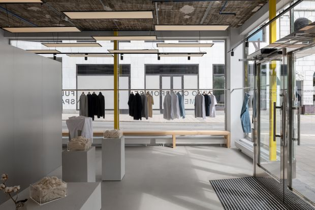 The store opened in the center of Stockholm.