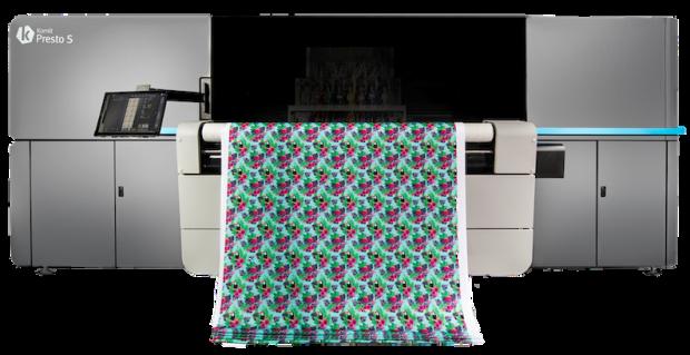 Digital textile printer by Kornit