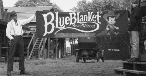 Blue Blanket website