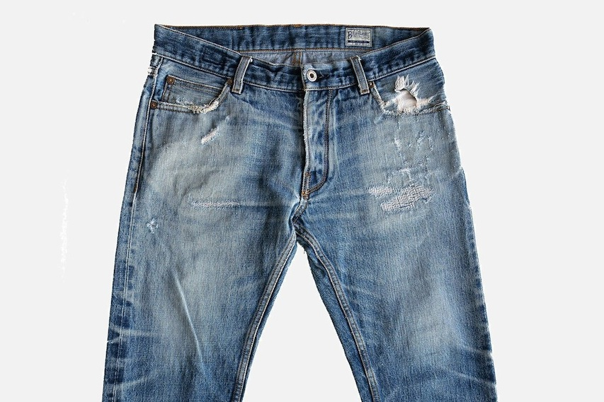Blue Blanket: Giving jeans a second life