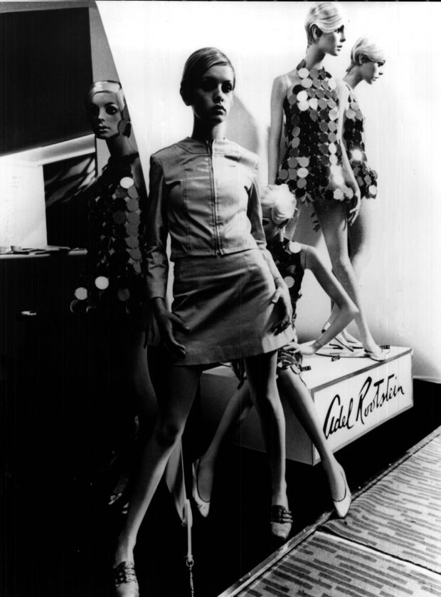 Rootstein mannequins inspired by Twiggy