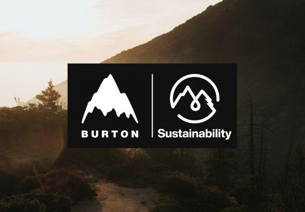 Burton's sustainability goals logo