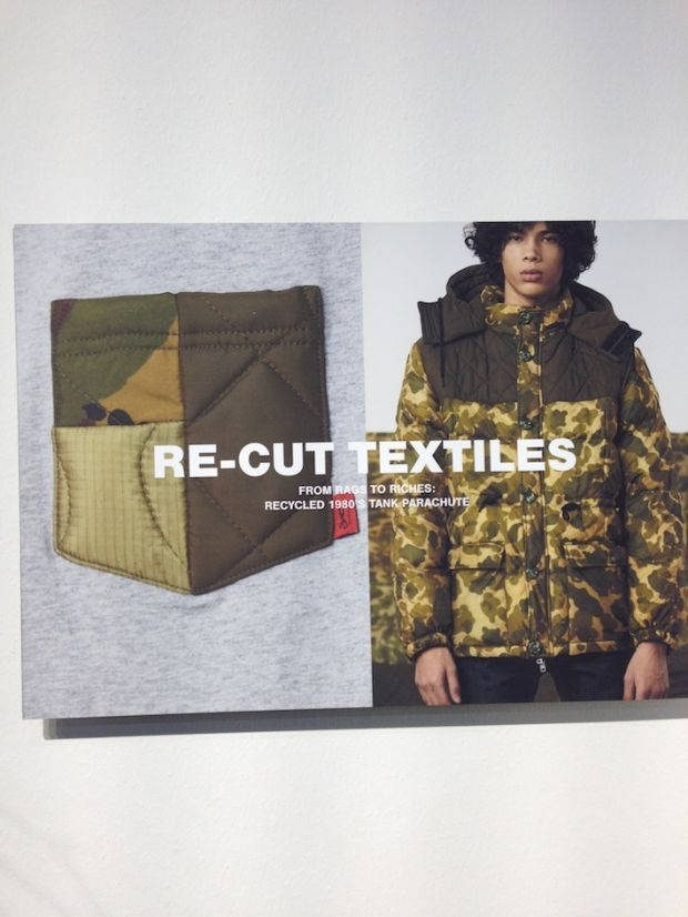 Denham's Re-Cut textiles upcycling project