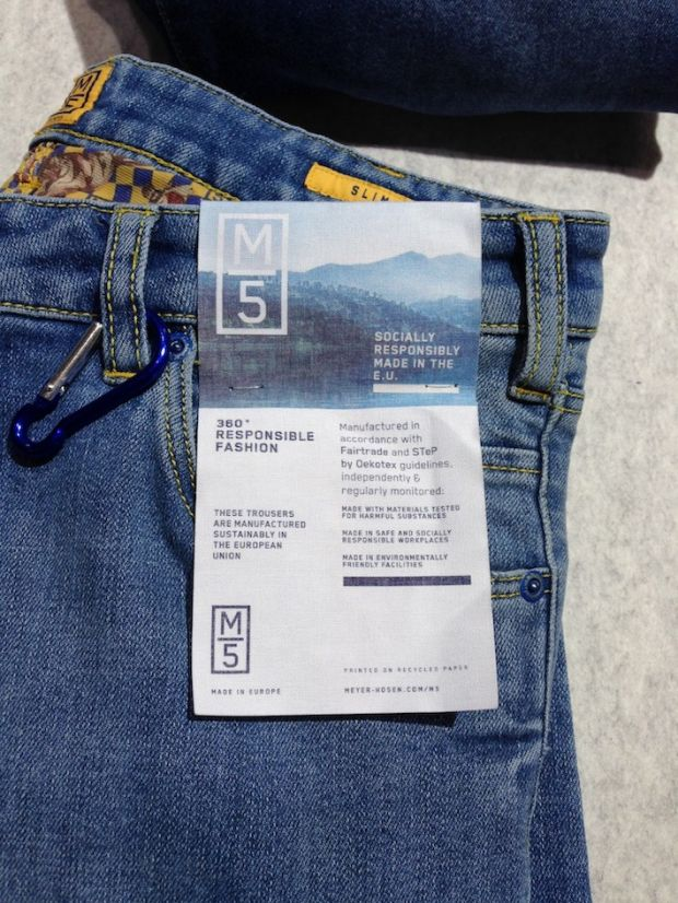 Ecofriendly jeans at M5