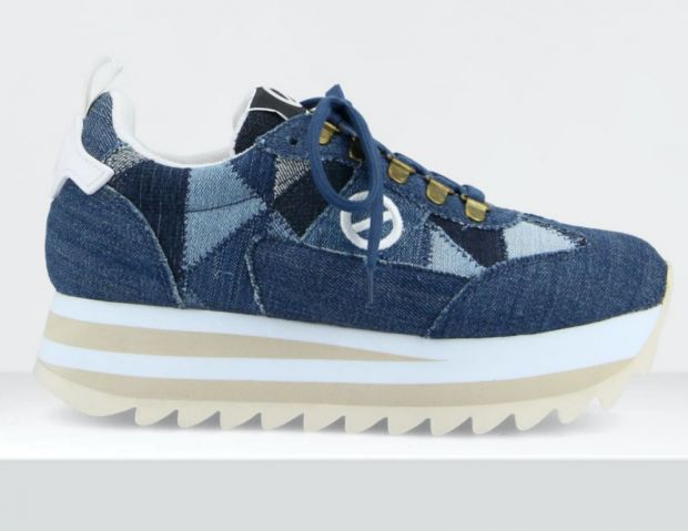 No Name sneaker made of recycled denim