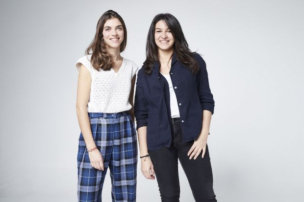 Marguerite Dorangeon (l.) and Rym Trabelsi, founders, Clear Fashion