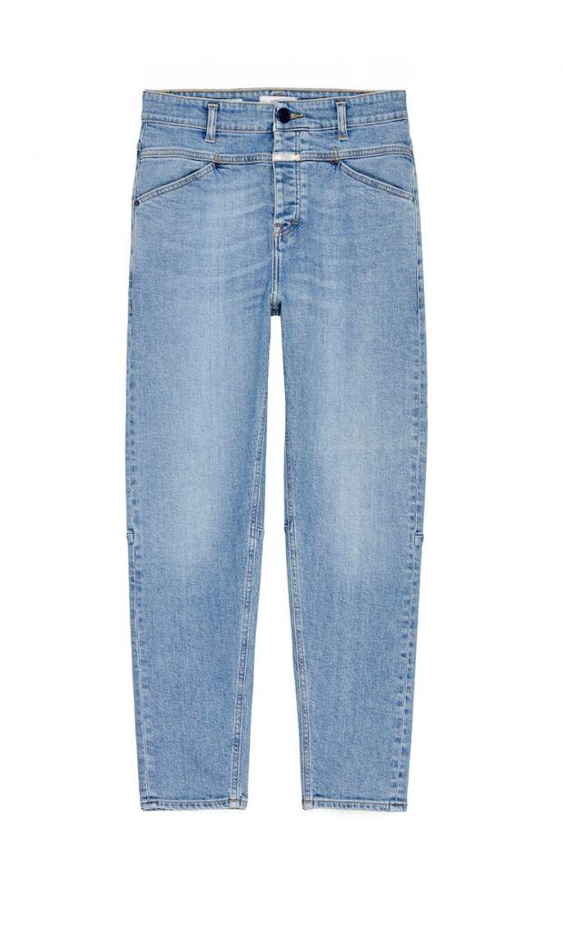 Closed jeans using Candiani's Coreva stretch denim