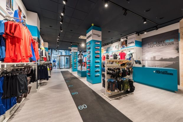 Absolute Run store concept by Sport 2000 International