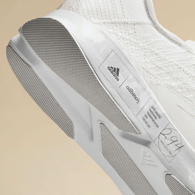 Detail of the Futurecraft Footprint running sneaker