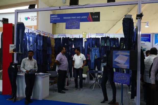 Booth at Denim Show